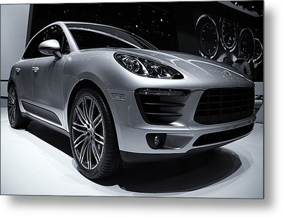2014 Porsche Macan Metal Print