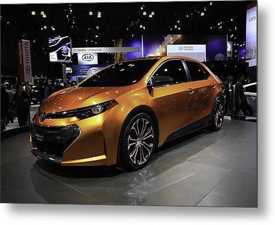 2014 Toyota Corolla Furia Concept Car Metal Print