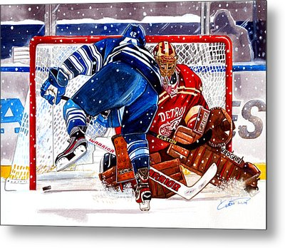 2014 Winter Classic Metal Print by Dave Olsen