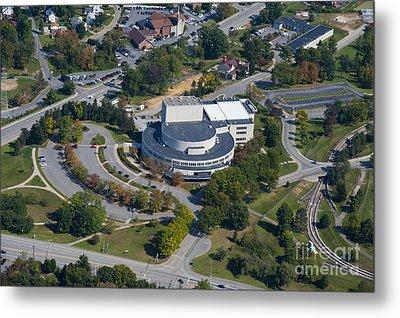aerials of WVVU campus Metal Print by Dan Friend