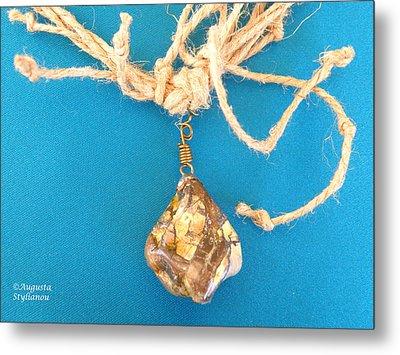 Aphrodite Urania Necklace Metal Print by Augusta Stylianou