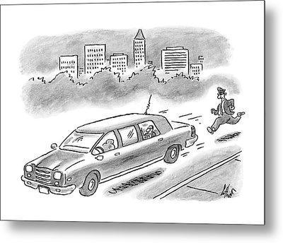 New Yorker December 11th, 2006 Metal Print