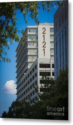2121 Building Metal Print