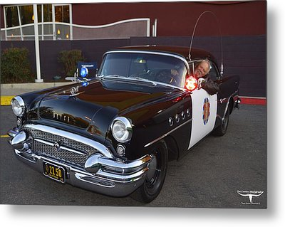 2150 To Headquarters Metal Print by Tommy Anderson