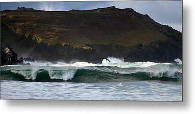 Clogher Beach Metal Print by Barbara Walsh