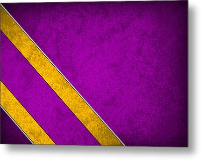 Minnesota Vikings Metal Print by Joe Hamilton