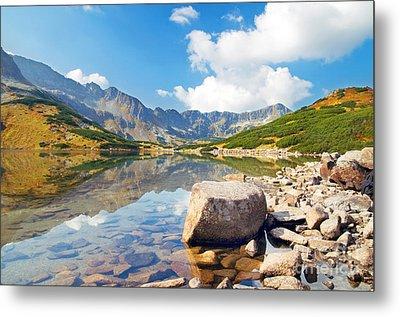 Mountains Landscape Metal Print by Michal Bednarek