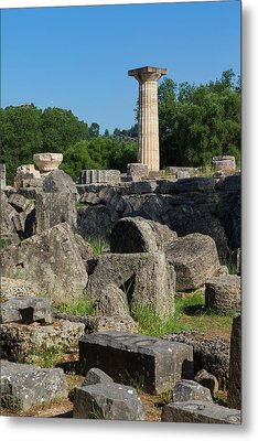Olympia, Greece Metal Print by Ken Welsh