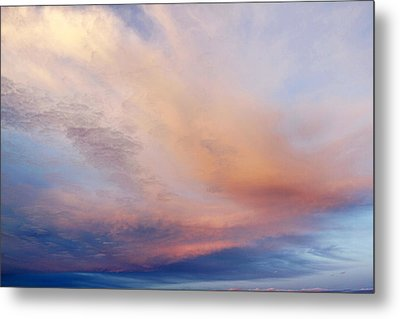 Clouds Metal Print by Les Cunliffe