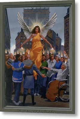 23. The Holy Spirit Arrives / From The Passion Of Christ - A Gay Vision Metal Print by Douglas Blanchard
