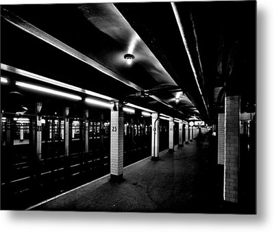 23rd Street Station Metal Print by Benjamin Yeager