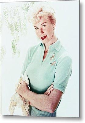 Doris Day Metal Print by Silver Screen
