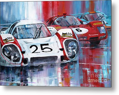 24 Le Mans 1970 Metal Print