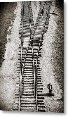 Auschwitz Metal Print by Mihai Ilie