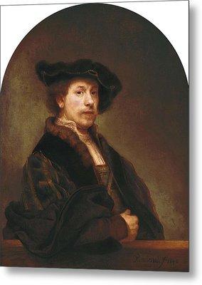 Rembrandt, Harmenszoon Van Rijn, Called Metal Print by Everett