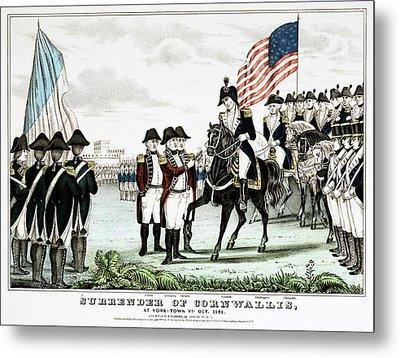 Yorktown Surrender, 1781 Metal Print