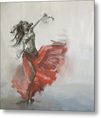 Belly Dancer 4 Metal Print by Corporate Art Task Force