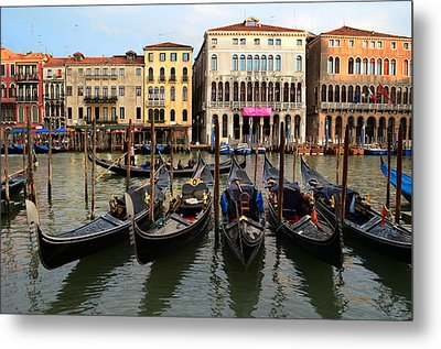 Venice Metal Print by Barbara Walsh