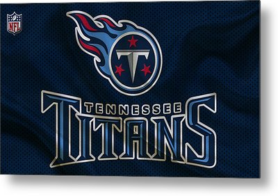 Tennessee Titans Metal Print by Joe Hamilton