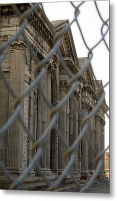 Michigan Central Station Metal Print by Gary Marx