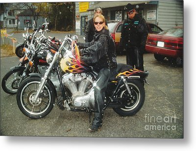 Bike Week Metal Print by Jesse Ciazza