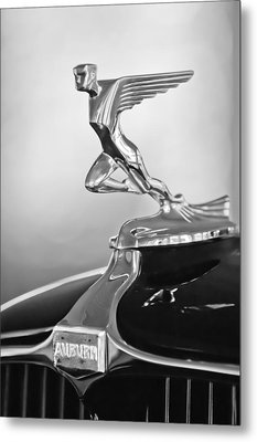 1932 Auburn 12-160 Speedster Hood Ornament Metal Print