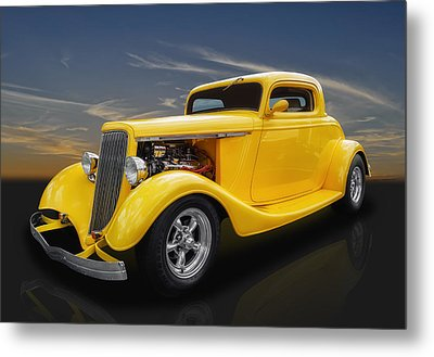 1934 Ford Metal Print by Frank J Benz