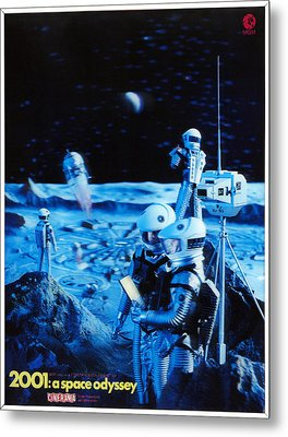 2001 A Space Odyssey, 1968 Metal Print