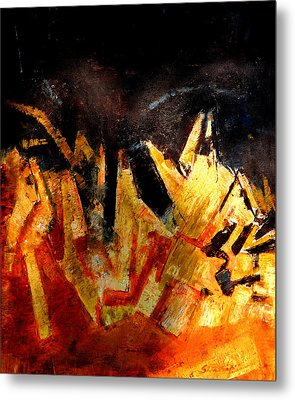 Abstract-6 Metal Print