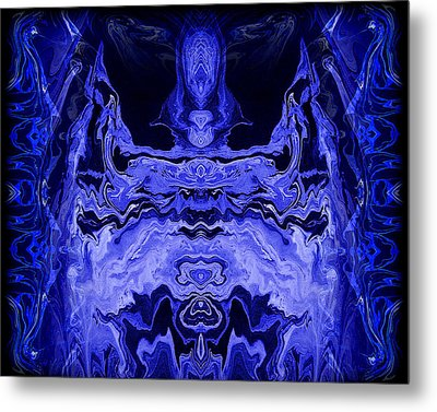 Abstract 72 Metal Print by J D Owen