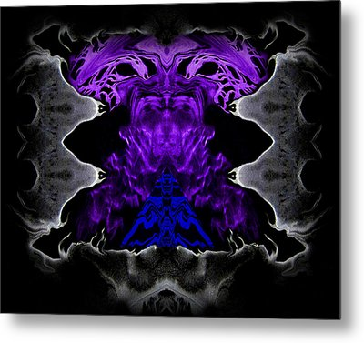 Abstract 83 Metal Print by J D Owen