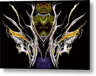 Abstract 94 Metal Print by J D Owen