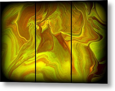 Abstract 99 Metal Print by J D Owen
