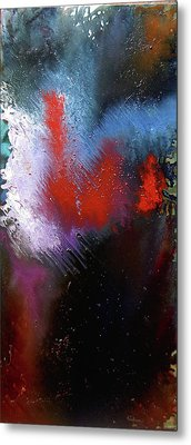 Abstract Metal Print by Min Zou