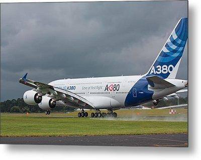 Airbus A380 Metal Print