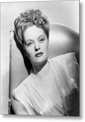 Alexis Smith, Ca. Mid-1940s Metal Print by Everett