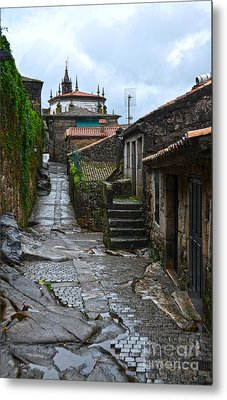 Ancient Street In Tui Metal Print by RicardMN Photography