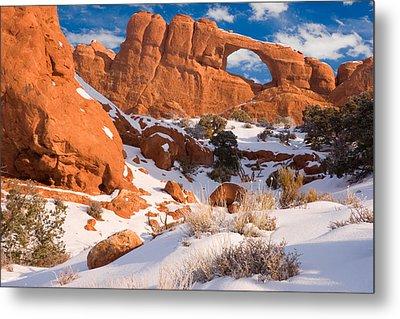 Arches National Park Utah Metal Print by Utah Images