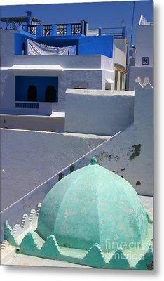 Metal Print featuring the photograph Asilah Meaning Authentic In Arabic Fortified Town On Northwest Tip Of Atlantic Coast Of Morocco by Ralph A  Ledergerber-Photography