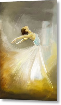 Ballerina  Metal Print by Corporate Art Task Force