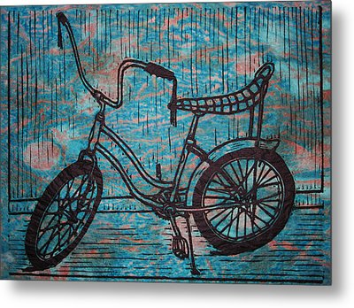 Banana Seat Metal Print by William Cauthern