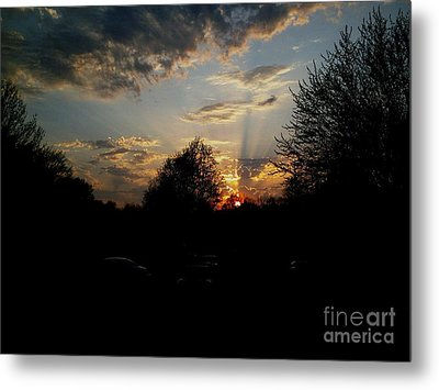 Beauty In The Sky Metal Print by Kelly Awad