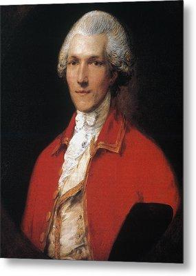 Benjamin Thompson (1753-1814) Metal Print