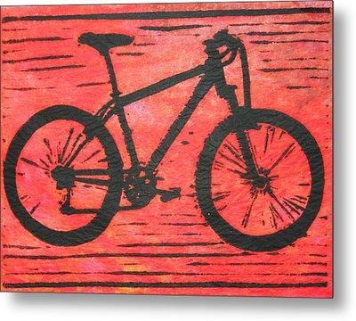 Bike 10 Metal Print