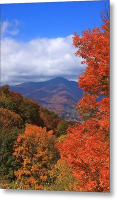 Blue Ridge Fall Metal Print