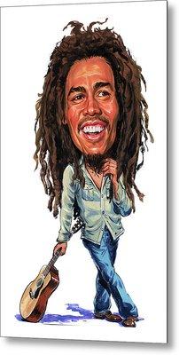 Bob Marley Metal Print by Art