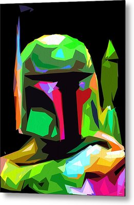 Boba Fett Star Wars Metal Print