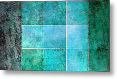3 By 3 Ocean Metal Print by Angelina Vick