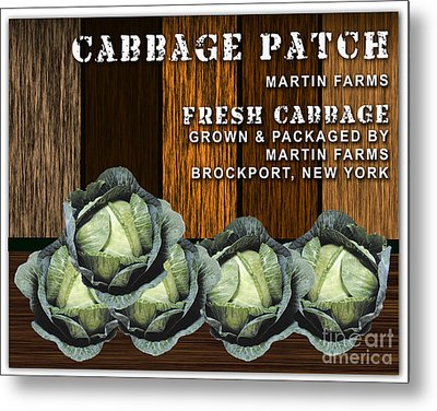 Cabbage Farm Metal Print by Marvin Blaine