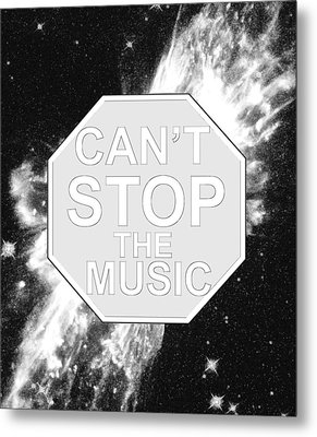 Can't Stop The Music Metal Print by Andrew Hunt